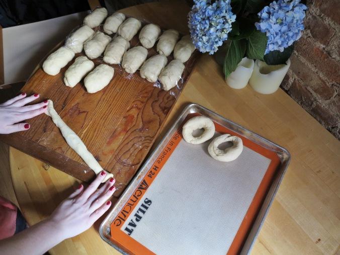 bagel shaping round 1