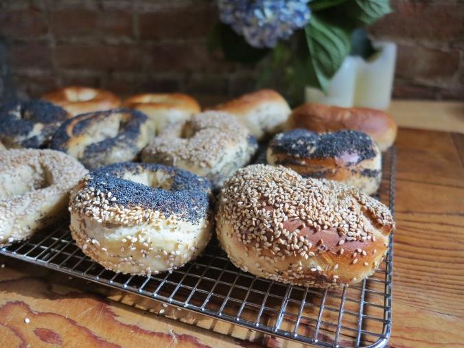 cool(ing) bagels