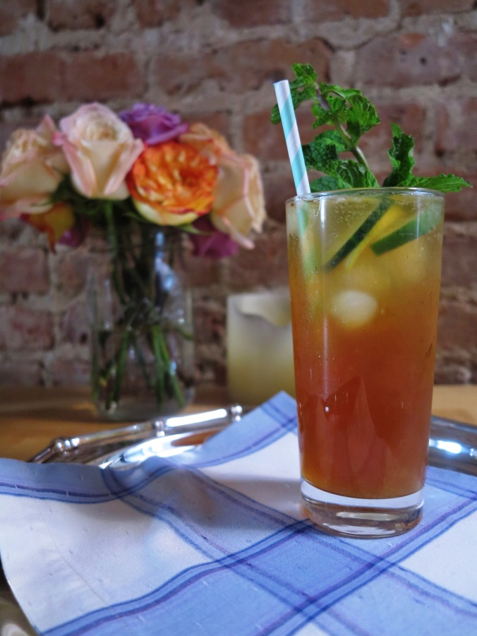 Victoria's Pimm's Cup | apinchofthis.nyc