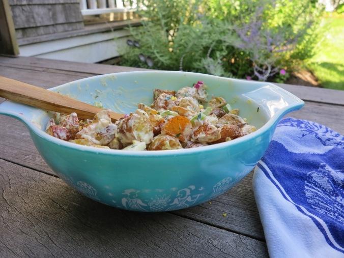 Roasted Potato Salad | apinchofthis.nyc