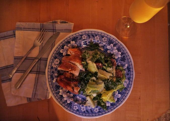 dinner for 1
