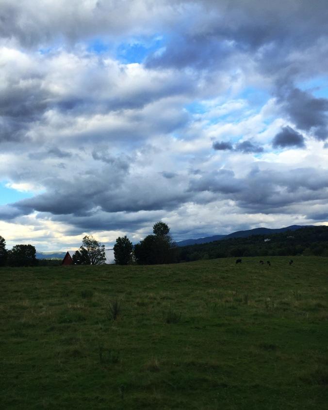 dusky clouds