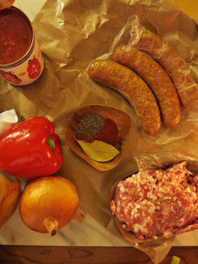 chicken and andouille jambalaya | apinchofthis.nyc