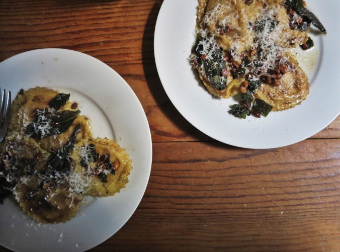 Pumpkin & Ricotta Ravioli | apinchofthis.nyc