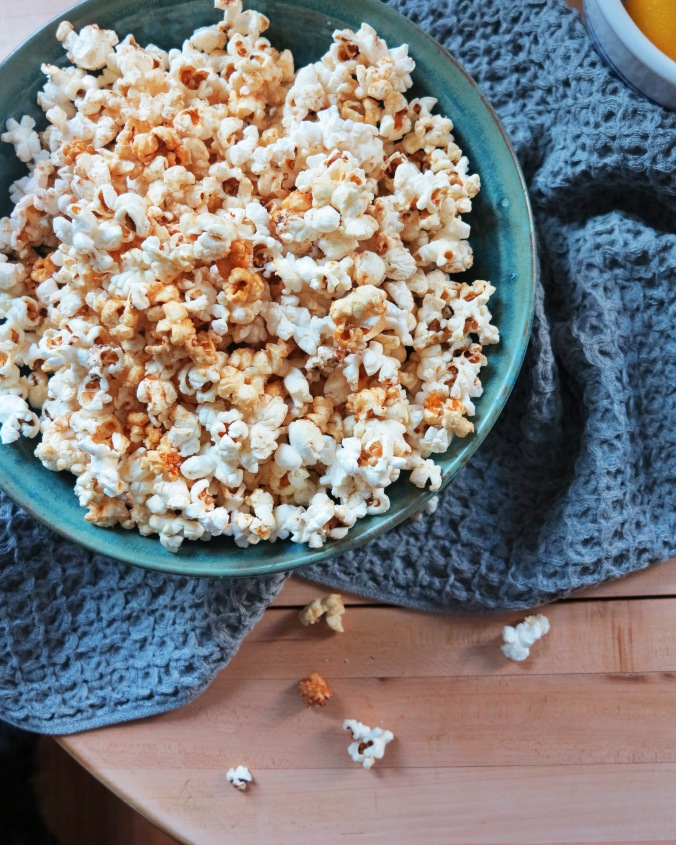 Honey Butter Popcorn | apinchofthis.nyc
