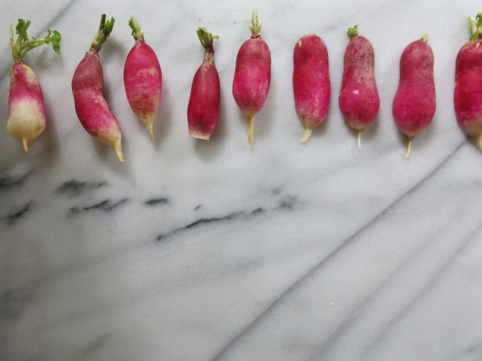 Butter-Dipped Radishes | apinchofthis.nyc