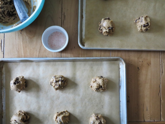 Brown Butter Toffee Chocolate Chip Cookies | apinchofthis.nyc